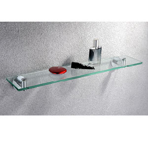 Simple Series -- Glass Bath Shelf (SIM-06A-CP)