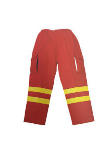 Fluorescent Safety Working Pant with Reflective Bands (HS-P015)