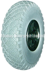 Flat Free Wheel (PF1010, 3.00-4) pictures & photos