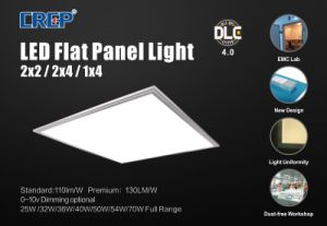 2X2/2X4/1X4FT Emergency LED Panel Light with UL Dlc4.0 pictures & photos