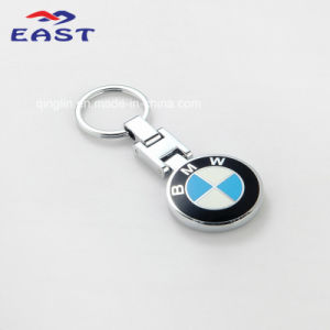 Promotional BMW Logo Round Shape Zinc Alloy Keychain pictures & photos