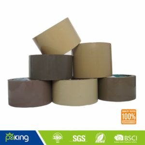 Brown BOPP Material Acrylic Humanized Low Noise Packing Tape pictures & photos