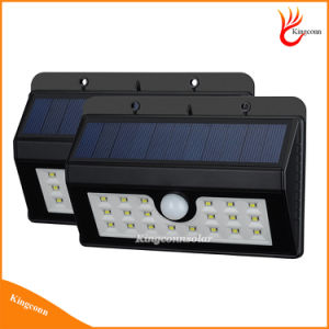 New Wireless 20 LED Solar Powered Garden Light with Waterproof IP65 PIR Motion Sensor Outdoor Fence Garden Pathway Wall Light pictures & photos