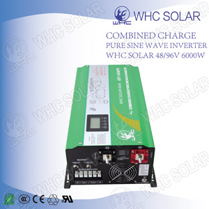 Whc Solar Homage Solar Inverter 6000W with LED Screen pictures & photos