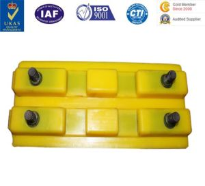 PU Casting Products Crawer/Pedrail/Caterpillar/Track Block for Construction Machine pictures & photos