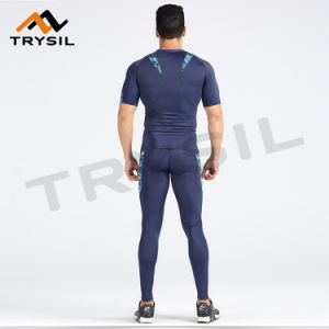 New Gym Wear Sets Tight Compression Fitness Clothes Type for Men pictures & photos