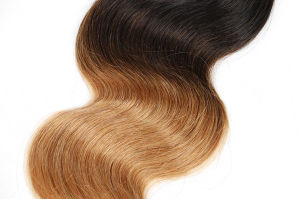 8A Ombre Brazilian Virgin Hair Body Wave Blonde Hair pictures & photos