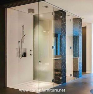 Corian Design Bathroom Shower Wall pictures & photos