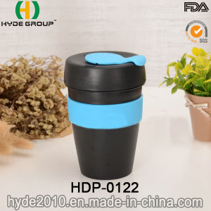 Promotion 12oz BPA Free Plastic Coffee Mug with Lid (HDP-0122) pictures & photos