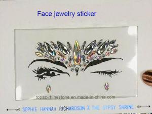 Facial Beauty Acrylic Diamond Face Crystal Sticker Eyeshadow Rhinestone Sticker (S052) pictures & photos