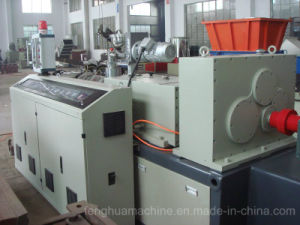 Reliable Supplier of Conical Twin Screw Extruder for PVC Pipe pictures & photos