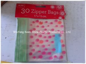Different Size Customed Print Zip Lock Plastic Bag pictures & photos