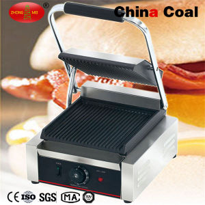 Countertop Electric Single Contact Grill pictures & photos