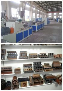 PVC Foamed Skinning Board Plastic Extrusion Machine pictures & photos