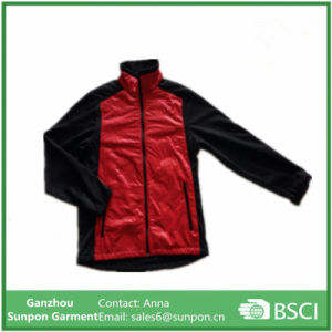 300d Interlock with TPU with Bonded with Micro Fleece Jacket pictures & photos