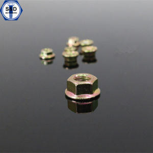 DIN 6923 Flange Nuts with Threaded Connection Flange pictures & photos