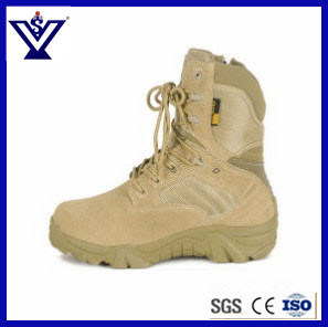 New Design Fashionable Desert Tactical Police Boot Shoes (SYSG-201774) pictures & photos