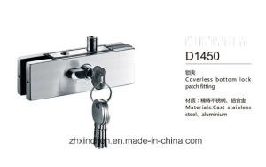 Xc-D1450 Stainless Steel Coverless Bottom Lock Patch Fitting pictures & photos