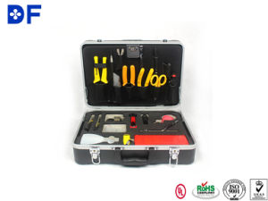 Optic Fiber Splicing Tools Box with Cable Jacket Stripper pictures & photos