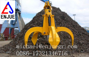 Eco-Hydraulic Orange Peel Steel Excavator Grab for Bulk Cargo Material pictures & photos