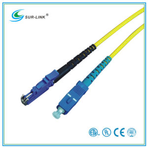 SC/PC-E2000/PC Sm 9/125 Simplex 2m Fo Patch Cord pictures & photos