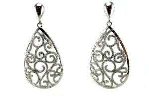 925 Sterling Silver Butterfly Earring for Woman′s Fashion Jewelry (E6573) pictures & photos