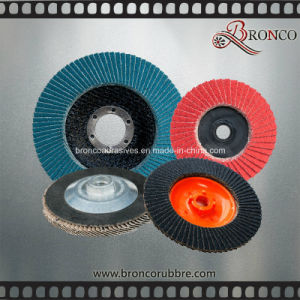 Super Stainless Steel Abrasive Cloth Polish Flap Disc pictures & photos