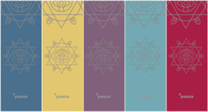 Five Colors Rubber Yoga Mat with Original Brand and Design pictures & photos