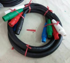 High Power Input Electrical Cable with 400A Camlocks pictures & photos