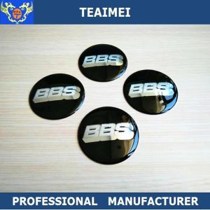 Custom Chrome Car Badge Aluminum Alloy Wheel Center Cap Sticker pictures & photos