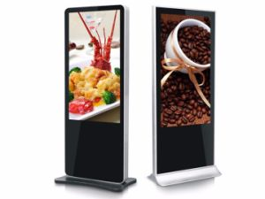 Floor Stand LCD Touch Screen Advertising Digital Signage pictures & photos