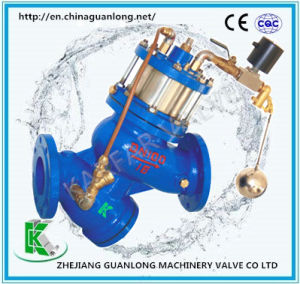 (GL98005) Buildin Strainer Piston Solenoid Float Ball Water Level Control Valve pictures & photos