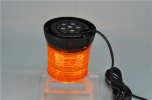 Magnetic 12W Amber Warning Light LED Strobe Beacon (TBD343-LEDIII) pictures & photos