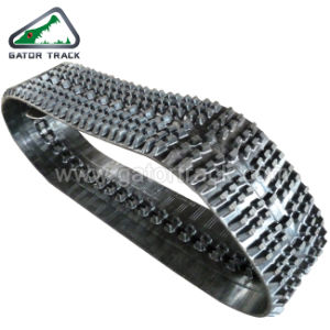 (WD300*72) Snowmobile Rubber Tracks pictures & photos