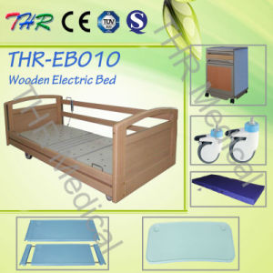 Thr-Eb010 Hospital Wooden Home Bed with Three Functions pictures & photos