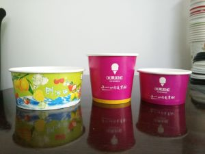 Disposable Ice Cream Cup pictures & photos