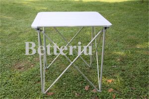 Aluminum Roll up Camping Table pictures & photos