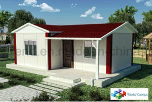 Earthquake-Proof Ecomomical Prefabricated House FRP Reinforced Shelter with Electric & Plumbing Facilities pictures & photos