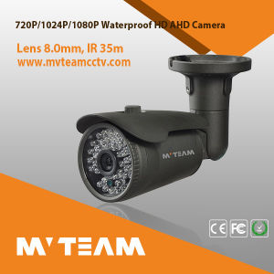 Mvteam IP66 Bullet Infrared Black Color Outdoor Use CCTV Camera pictures & photos
