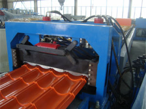 Newest Steel Tile Roll Forming Machines pictures & photos
