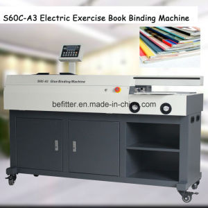 S60C-A3 Electric Exercise Book Binding Machine pictures & photos