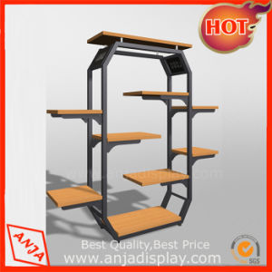 Metal Garment Display Rack Store Shelving Fixtures for Retail Stores pictures & photos