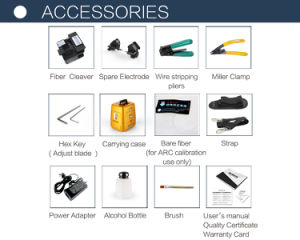 Signal Fire Ai-8 Factory Direct Sale Welding Machine Core to Core Alignment Fiber Splicing Machine pictures & photos