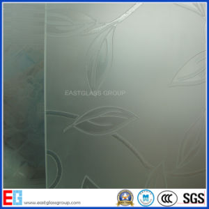 Acid Etched Pattern Glass/Frost Pattern Glass pictures & photos