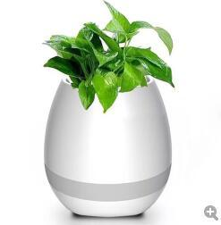 Bluetooth Creative Flowerpot LED Colourful Light Music Flower Pot pictures & photos
