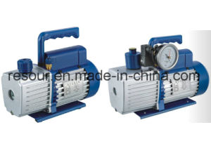 Single Stage, Dual Stage Vacuum Pump (with vacuum gauge and solenoid valve) for Refrigeration, Vp115, Vp125, Vp135, Vp145, Vp160, Vp180, Vp1100 pictures & photos
