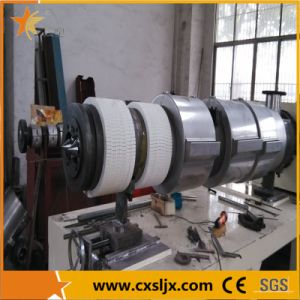 Sjsz Plastic Conical Twin Screw PVC Pipe Extruder pictures & photos
