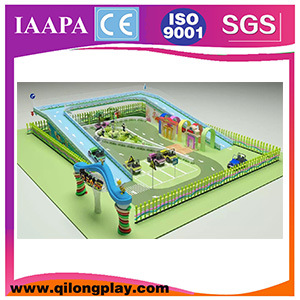 2016 New SGS EVA Mat LLDPE Plastic Indoor Playground pictures & photos