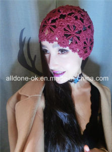 Hand Crochet Summer Spring Lady Girl Hat Beanie Bonnet Cap pictures & photos
