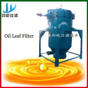 Professional Manufacture Cooking Oil Leaf Filter Machine pictures & photos